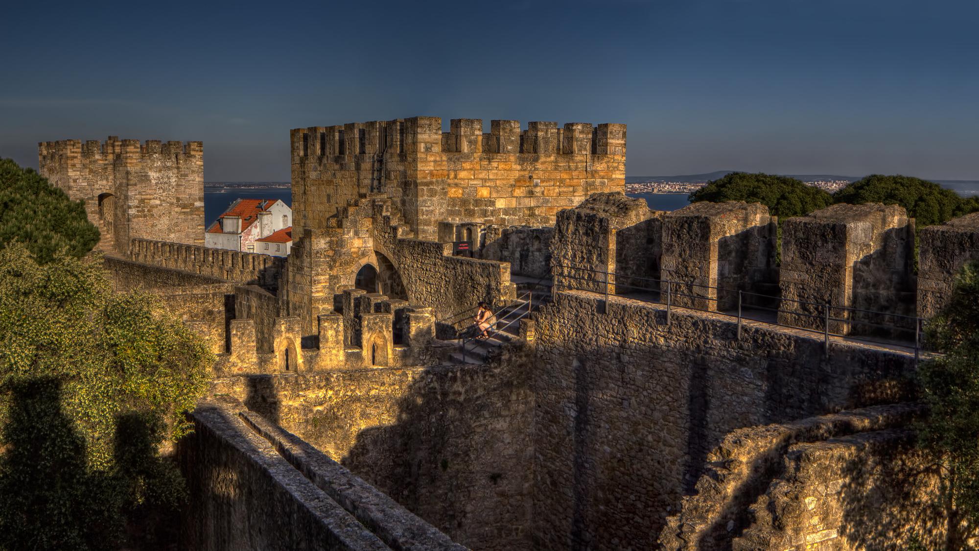 Castelo De Sao Jorge Lisbon Poul Laursen